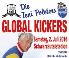 2. Juli 2016 Global Kickers | Charitymatch